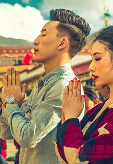 成都旅拍 西藏旅拍客片 成都婚纱摄影
