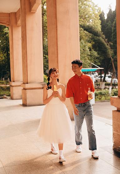 成都婚纱照,成都婚纱摄影,成都摄影工作室,婚纱照拍摄,瞳创摄影客片,校园婚纱照